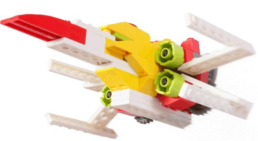 Лего робот Lego ракета